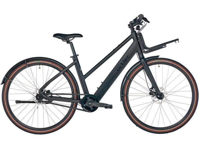 Ortler EC700 E-citybike Damer sort | City-cykler